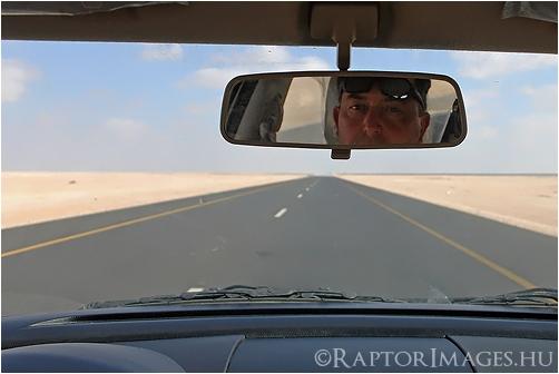 Desert road, Oman